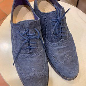 Cole Haan suede laceup oxfords